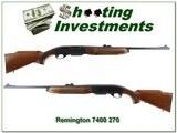 Remington 7400 270 Win Exc Cond! - 1 of 4