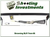Browning BLR Stainless Laminated Takedown 7mm-08 NEW in box!