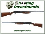 Browning BPS 12 Ga Engraved made in 1997 28in invector barrel