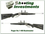 Ruger No.1 Stainless Laminated hard to find 450 Bushmaster!