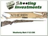 Weatherby Mark V Terramark RC (Range Certified) 6.5-300 Wthy NIB - 1 of 4