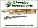 Weatherby Mark V Outfitters Ultralight 6.5-300 Wthy NIB - 1 of 4