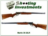 1940 made Marlin 39 A rare case colored very early 39A Marlin 22!