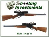 Marlin 336 RC 30-30 JM Marked Micro Grooved made in 1957 Exc Cond!