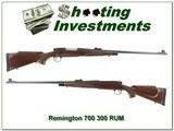 Remington 700 BDL Deluxe 300 RUM Exc Cond!