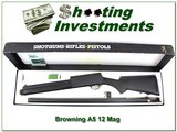 Browning A5 Magnum 12 1993 made Stalker in box!