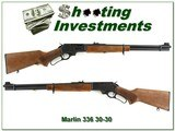Marlin 336 W Micro Grooved 30-30 Exc Cond
