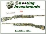 Benelli Nova 12 Ga 3.5in Advantage MAX 4 camo Exc Cond - 1 of 4