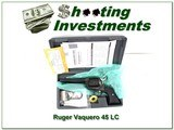 """Ruger Vaquero case colored 45 LC5.5"""" NIC - 1 of 4"""
