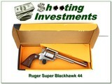 Ruger Super Black Hawk Stainless 7.5in Exc COnd - 1 of 4
