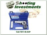 Colt MK IV Series '80 Government Model Enhanced Stainless 45 - 1 of 4