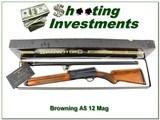 Browning A5 Magnum 12 63 Belgium in box!