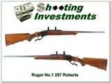 Ruger No.1 Red Pad 257 Roberts 26in Sporter