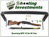 Browning BPS Engraved 30 year anniversary 12 Ga NIB