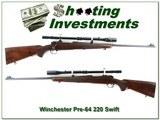 Winchester pre-64 Model 70 1953 220 Swift original!