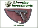 Colt Challenger 22LR 1955 made like new collector!