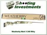 Weatherby Mark V Camilla Subalpine 240 Wthy Mag NIBwea - 1 of 4