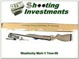 Weatherby Mark V SPM early Ultra-light 7mm-08 ANIB