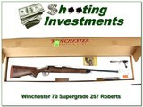 Winchester Model 70 Lightweight Supergrade 257 Roberts!