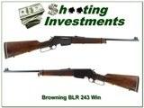 Browning BLR 1971 Belgium 243 Top Collector!