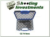 CZ Model 75 9mm collector condition no import marks