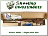 Mauser M12 Expert 7mm Rem Mag unfired in box XX Wood!