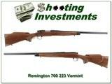 Remington 700 Varmint Special 1980 made 223 Rem Top Cond!