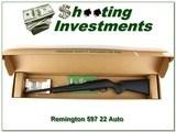Remington 597 22 Auto New in Box!