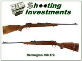 Remington 700 ADL first model 1968 270 Win collector!