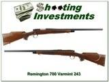 Remington 700 Varmint Special 243 Win 1993 collector!