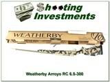 Weatherby Mark V Arroyo RC (Range Certified) 6.5-300 Wthy NIB