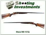 Ithaca NID Field Grade 12 Gauge 30 in nice wood