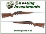 Browning Acera Belgium made Straight Pull 30-06 3 magazines!