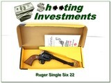 Ruger Single Six New Model early gun unfired in box 6.5in
