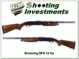 Browning BPS Field 12 Ga harder to find 22in Invector barrel