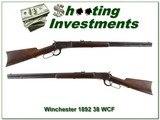 Winchester 1892 38 WCF 38-40 made in 1895 original