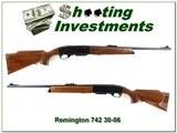 Remington 742 Deluxe 30-06 1970 Basketweave near new