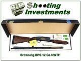 Browning BPS NWTF commemorative 12 Ga Magnum NIB