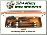 Browning A5 Belgium Sweet Sixteen 2 barrel set