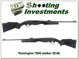 Remington 7600 30-06 Exc Cond Stalker