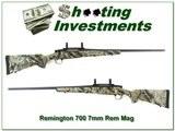 Remington 700 BDL 7mm Rem factory Realtree camo stock