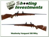 Weatherby Vanguard Deluxe 300 Wthy near new!