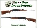 Remington 7400 30-06 1984 made Exc Cond