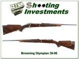 Browning Belgium Olympian triple signed 1962 30-06