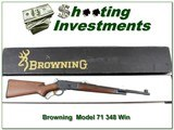 Browning Model 71 Carbine 348 Win unfired in box!
