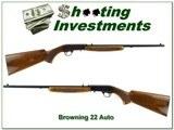 Browning 22 Auto 71 Belgium unfired