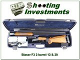 Blaser F3 Sporting Clays 12 and 28 Ga set Exc Cond!