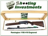 Remington 1100 410 Enhanced Engraved unfired in box!