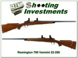 Remington 700 Varmint Special First Model 22-250 - 1 of 4