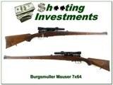 H. Burgsmuller & Sohne Mauser Mannlicher in 7 x 64 - 1 of 4